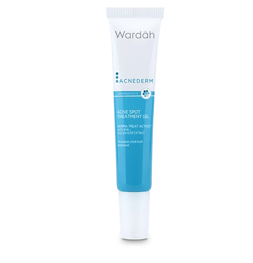Wardah Acnederm Acne Spot Treatment Gel