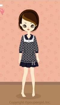 Dot dress / nv09K