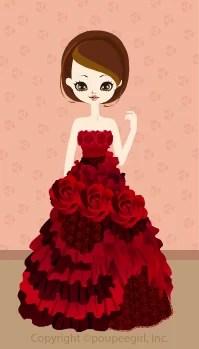 Rose dress / 09F