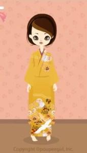 Kimono-crane / 10A