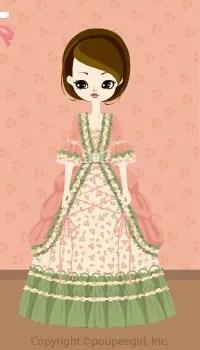 Frilled dress / or09IJ