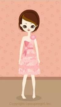 Girly dress / pk09C