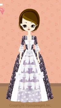 Noble dress / bk09I
