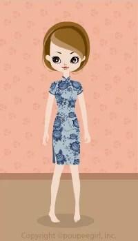 Cute China Dress / Bl09C