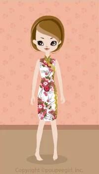 Cool China Dress / Wh09C