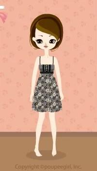 Flower camisole dress / gr09IJ