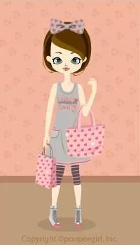 Heart lucky bag / pk09H