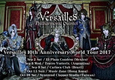 Versailles十週年世界巡演 10月15日香港Music Zone化身薔薇聖堂