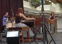 Vanessa with Donna Grantis & Jean-Pierre Levesque; Montreal Jazz Festival 2002