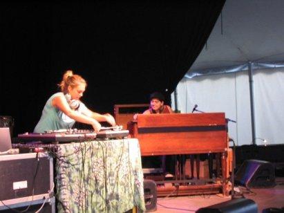 Vanessa & DJ Killa Jewel; Atlantic Jazz Festival 2006