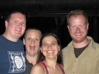 Morgan Childs; Mike Rud; Vanessa Rodrigues; Chris Gale