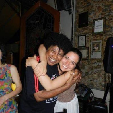 Vanessa with Robertinho Silva
