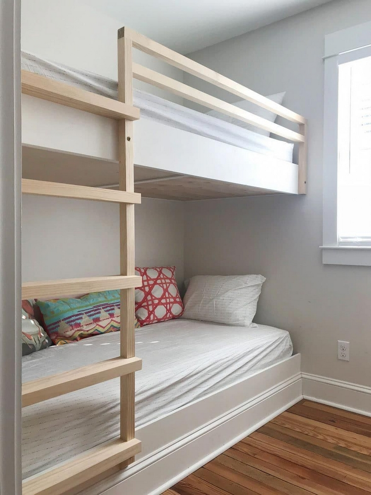 82 Amazing Models Bunk Beds With Guard Rail On Bottom Ensuring Your Bunk Bed Is Safe For Your Children 2