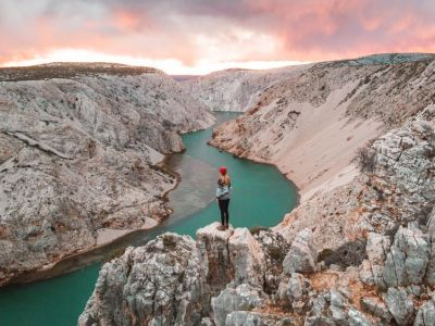 Zrmanja Canyon viewpoint – Kroatië