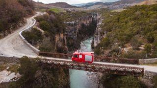 Viewpoints Osum Canyon – Albanië