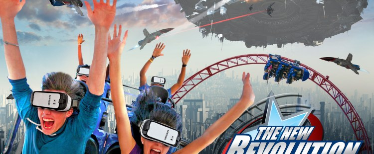 North America's First Virtual Reality (VR) Roller Coaster Debuts at Six Flags Over Georgia