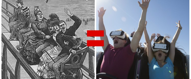 In a VR/AR World, What's Old is New #UpCycling