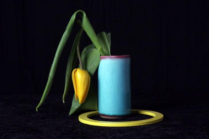 Gele tulp.