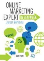 Online marketing expert in een week van Jeroen Bertrams, Online MArketing, Marketing, Marketingboeken
