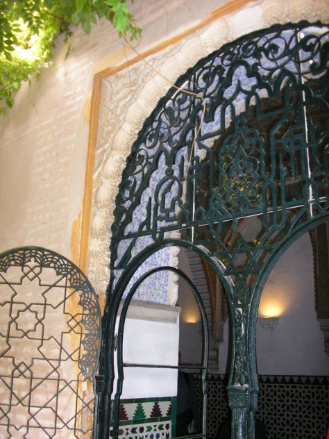 Fragment deur Real Alcázar Sevilla