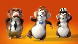 Hamsters in actie