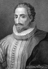 Cervantes portret