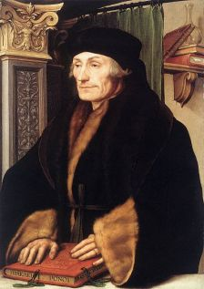 Erasmus schilderij Holbein