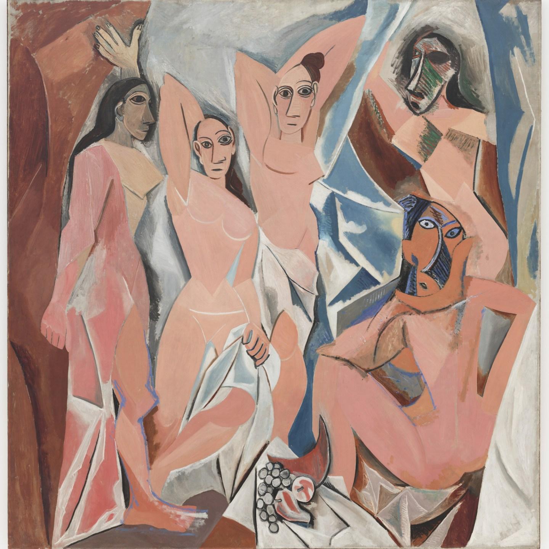 Les demoiselles d' Avignon van Picasso