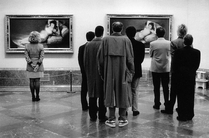Wie schilderde Goya in Las Majas?