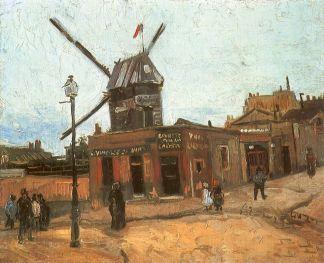 Vincent van Gogh Moullin de la Galette 1886