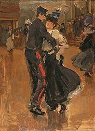 Isaac Israels Dance au Moulin de la Galette