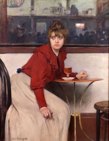 Ramon Casas - Madeleine 1892