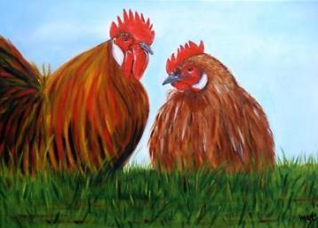 De nieuwe standaard kip