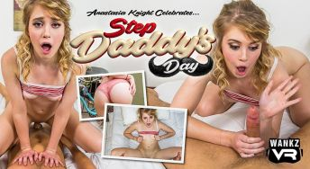 Step Daddy's Day Anastasia Knight VR Porn