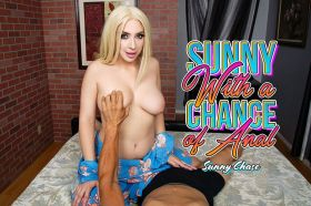 Sunny With A Chance Of Anal Sunny Chase VR Porn