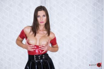 Czech VR Fetish 143 - Be Master to Your Latex Slave Jenifer Jane vr porn