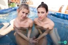 Czech VR Fun in the Pool - Casey Nice, Jessika Night VRPorn
