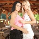 Lesbian Summerhouse Alex Black, Cayla Lyons