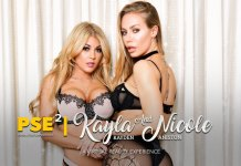 """PSE - Squared"" featuring Nicole Aniston and Kayla Kayden! VR Porn Virtual Reality Adult"