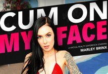 """CUM ON MY FACE"" featuring Marley Brinx!"