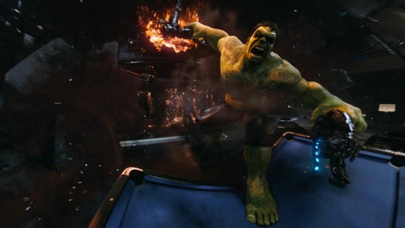 Hulk Age of Ultron Samsung Gear VR