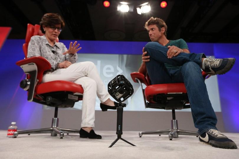 GoPro CEO Nick Woodman and Recode's Kara Swisher