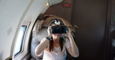 Inflight Virtual Reality GoGo GearVR