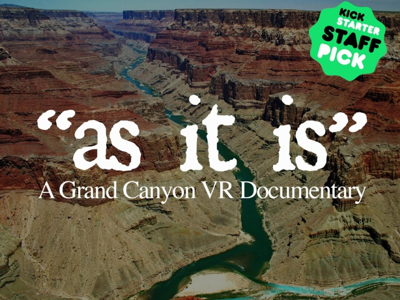as it is vr documentary