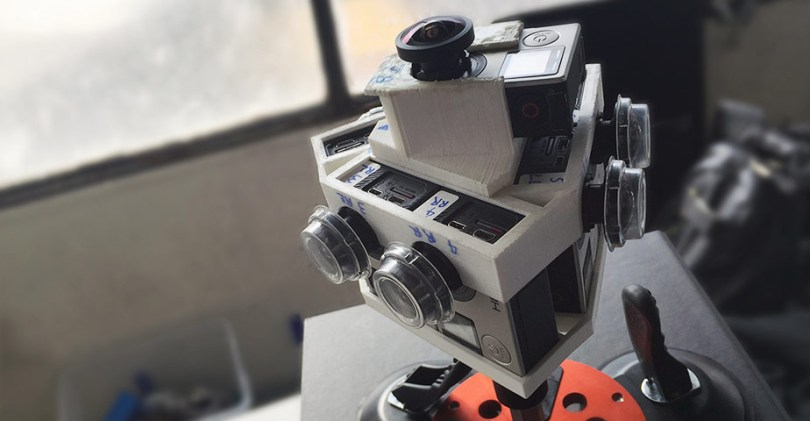 In car GoPro VR rig