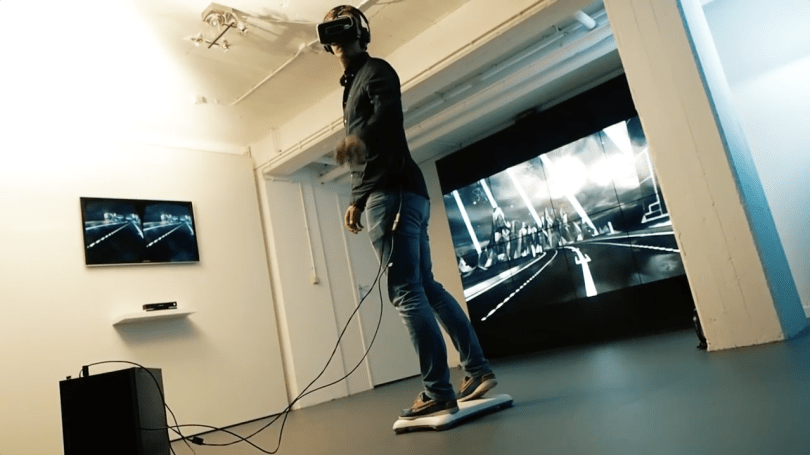 Hoverboard VR Virtual Reality
