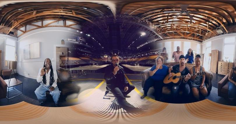 U2 Apple VR Music Video