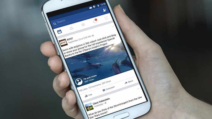 Facebook 360 Advertising Paid Media