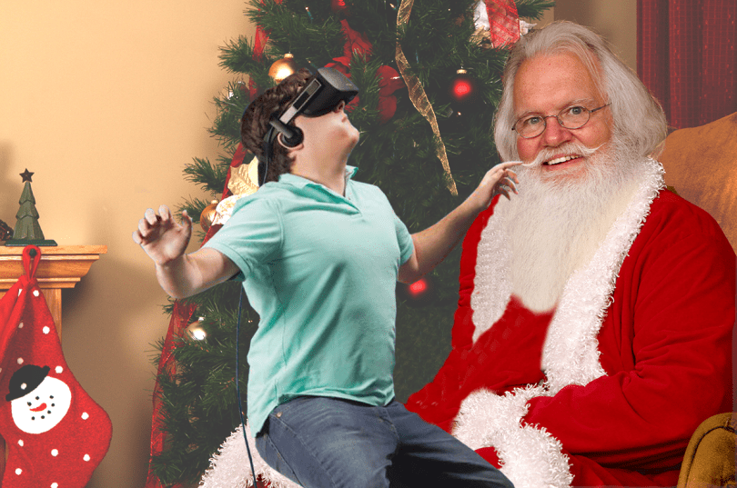 virtual reality gift guide palmer luckey oculus santa claus