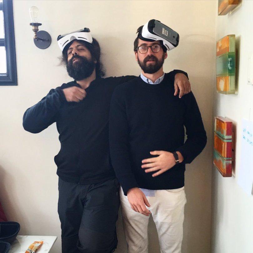 reggie watts virtual reality ben dickinson